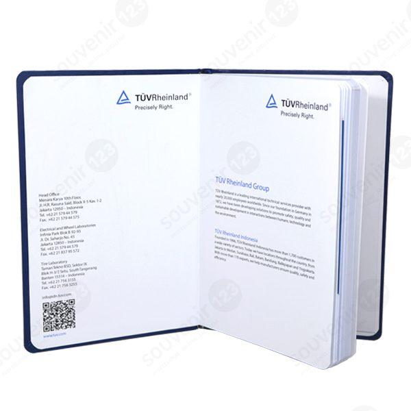 Agenda Custom A5 Bahan Kulit Sintesis