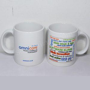 Mug Keramik Standar Printing Full Color