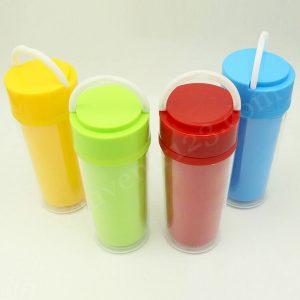 Tumbler Plastik Insert Paper TPS01