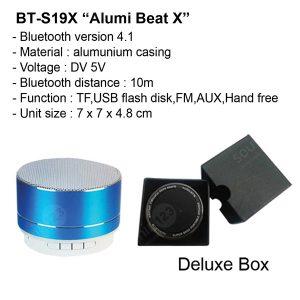 Bluetooth Speaker Alumi Beat X BTS19X