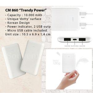 Power Bank CM860 Trendy Power 10000mAh