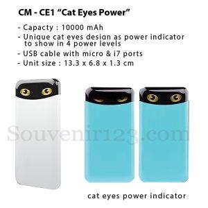 Power Bank CMCE1 Cat Eyes 10000mAh