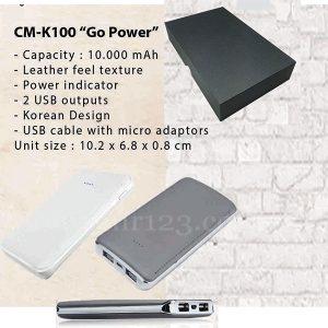 Powerbank Go Power 10000mAh CMK100