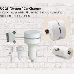 Car Charger Octopus UC23