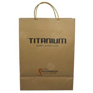Paper Bag bahan Kraft