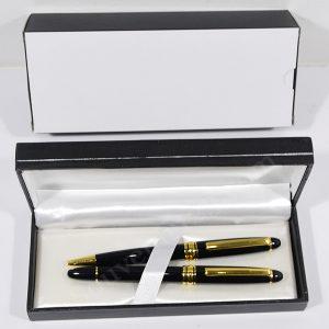 Pen Metal Roller Set 9B801 + Kotak Deluxe