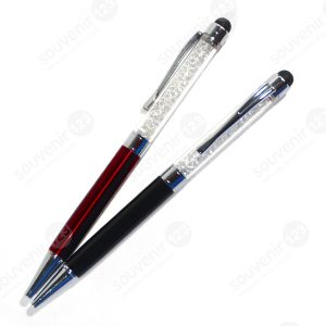 Pulpen Metal Stylus Kristal New