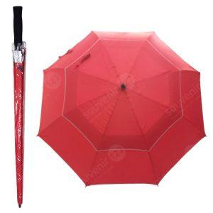 Payung GRC Susun Dua Rangka Fiber