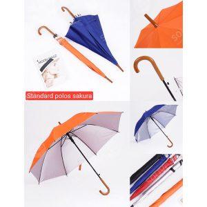Payung Standar Polos Sakura PY-S3