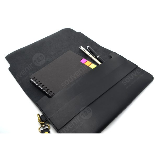 Pouch Dokumen Kulit Sintesis Model TK-034