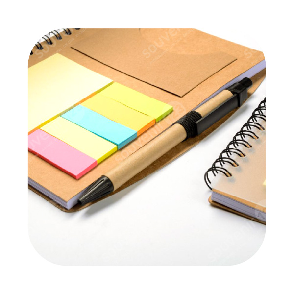 Notes Transparan + Post-It
