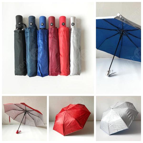 Payung Lipat 3 Otomatis 518 GRC