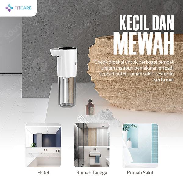 Automatic Soap and Hand Sanitizer Dispenser Tempat Sabun Otomatis Fitcare
