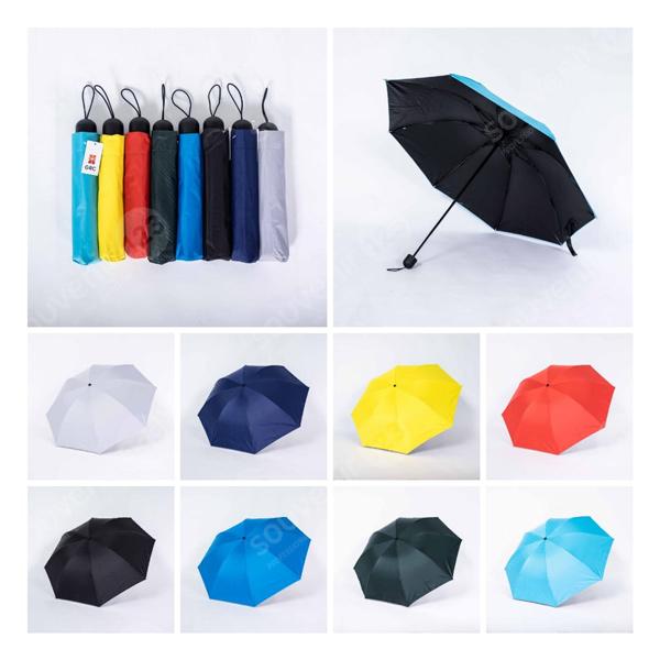 Payung Lipat 3 L3 303 Lapis Hitam GRC