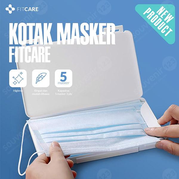 Kotak Masker Tempat Penyimpanan Masker Fitcare