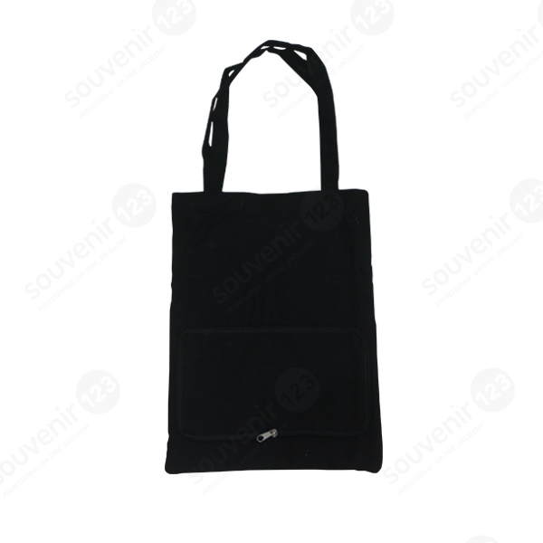Goodie Bag Kanvas Lipat Resleting