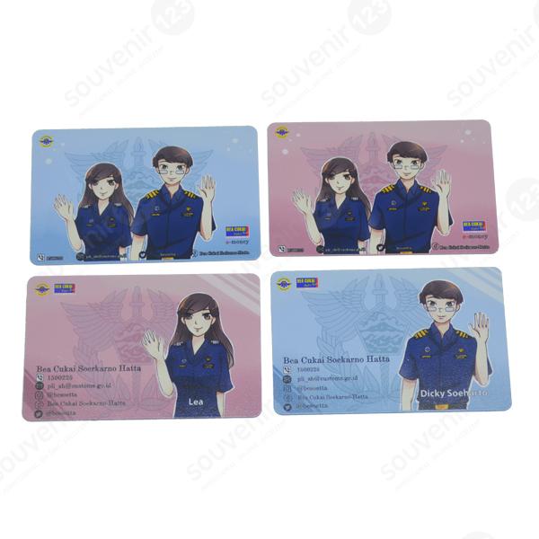 Kartu E-money Custom