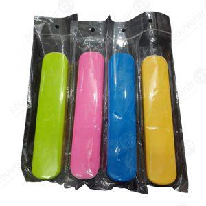 Sendok Garpu Sumpit Set + Kotak Plastik (Biasa)