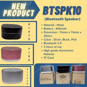 Speaker Bluetooth BTSPK10